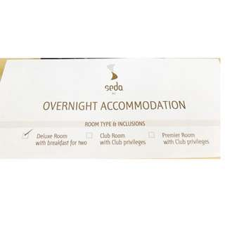 GREAT SAVINGS ALERT!!! Overnight Hotel Accommodation at Seda BGC.