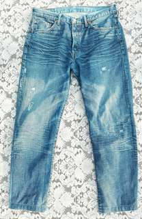 Authentic LEVI's Tattered Jeans for Men