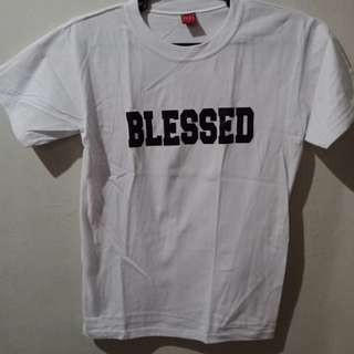 Blessed White T Shirt