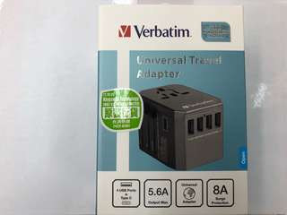 Verbatim Travel Adapter with type-c