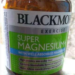 Blackmores Exercise Super Magnesium