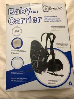 Brand New Baby 3 in 1 carrier