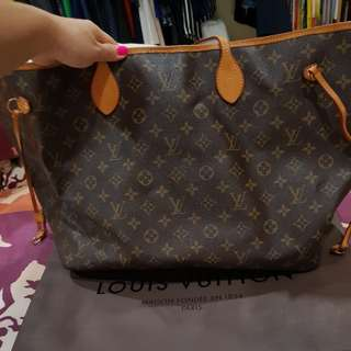 Preloved Non Authentic Louis Vuitton Never Full