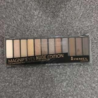 Rimmel Pan Nude Edition Eyeshadow Palette, 14 g