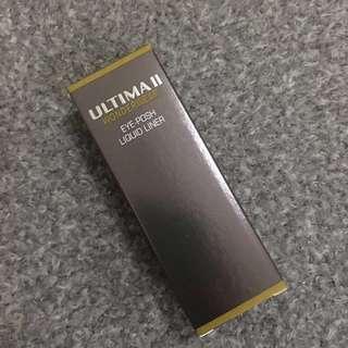 ULTIMA II wonderwear eye-posh liquid liner BLACK