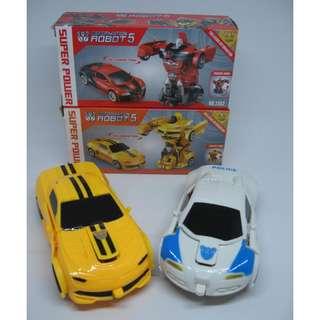 Mainan Mobil ROBOT / Deformation ROBOT 5 No. 2343