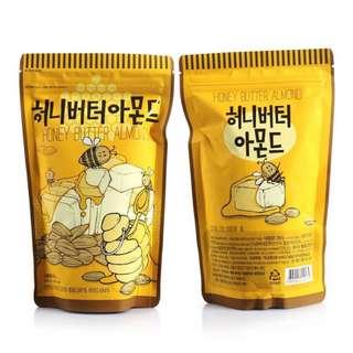 Tom's Farm Honey Butter Almond Healthy Snack 250g (Korean snacks)