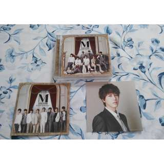 Super Junior-M Perfection Japan CD + DVD + Card