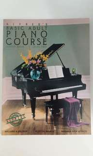 Alfred's Basic Adult Piano Course Level 2