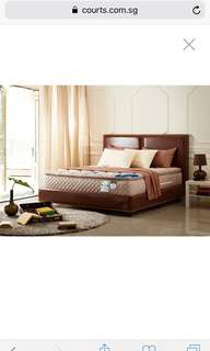 Queen Lotus Stella Mattress with Bedframe