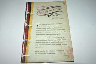 Novel Once Upon A Time - Aditia Yudis