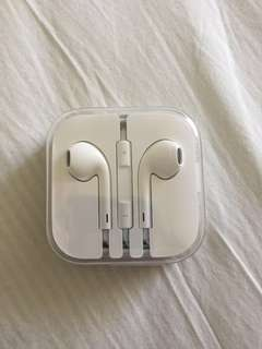 1x Apple earbuds