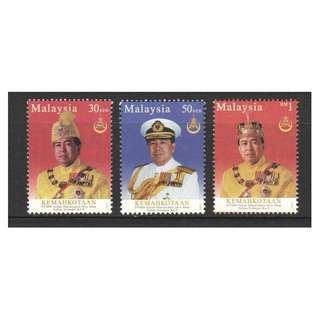 MALAYSIA 2003 STATE CORONATION OF SULTAN SHARAFUDDIN SELANGOR COMP. SET OF 3 STAMPS SC#149-151 IN MINT MNH UNUSED CONDITION