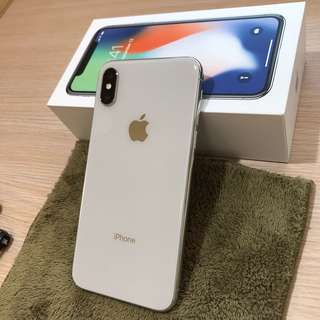 🚚 iPhone X 64G silver