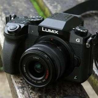 Camera Lumix Gx7 4k Bisa di cicil tanpa kartu credit (canon,nikon,sony