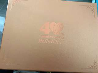 Hello Kitty 40th Anniversary Plate Set