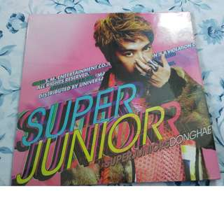 Super Junior Mr. Simple CD Type A (Cover: Donghae) - Philippine Version