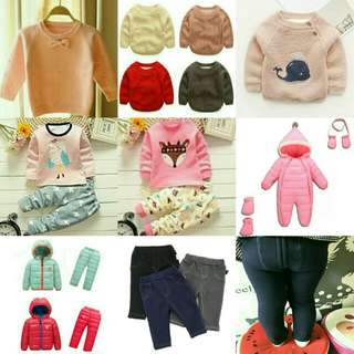Baby Girl Warm Outfits!