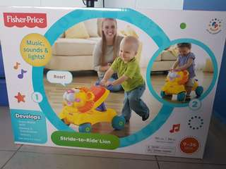Fisher Price Walker and ride