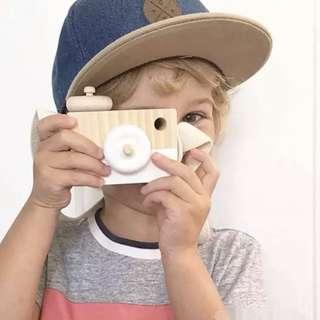 Kids' Toy : Wood Camera