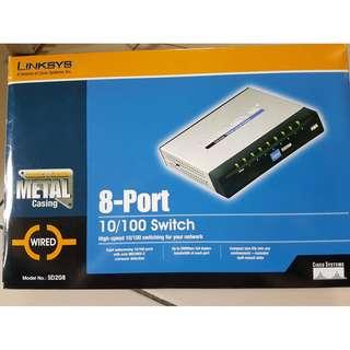 8-port 10/100 switch - SD208