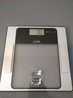 Camry digital body fat hydration weighing scale