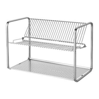 [IKEA] ORDNING Dish drainer, stainless steel