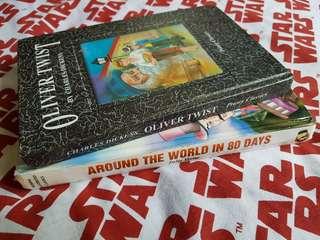 Oliver Twist & Around the World in 80 Days