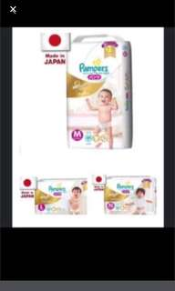 FLASHSALE: Pampers Premium Care Silk Pants