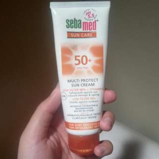 sebamed sunblock sun cream sun care