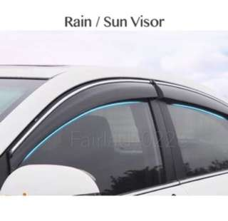 Customized Rain Visor - PM me your car model