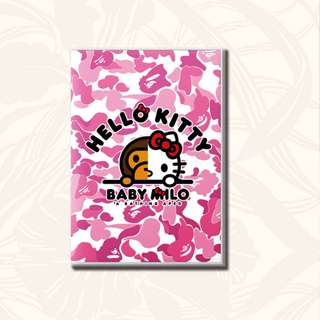 ★ 3 FOR $9 ★ A5 NOTE BOOK ★ BAPE HELLO KITTY MMJ BABY MILO ★ Half