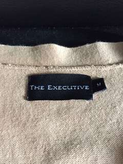 cardigan the executive warna krem
