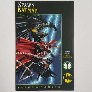 DC Image Comics Spawn Batman One Shot Prestige Format  Near Mint Condition Frank Miller Todd McFarlane Art