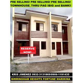 Birmingham Maeikina Heights pre selling townhouse thru bank AVAIL NOW