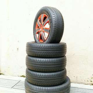 Used 195/65 R15 Michelin (4pcs) 🙋‍♂️