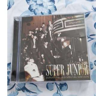Super Junior Super Show 3 Japan Limited Edition CD + DVD