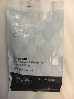 The Face Shop Oil Control Water Cushion Foundation Refill Pack