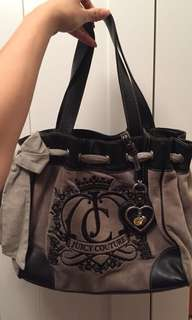 Gray Juicy Couture handbag