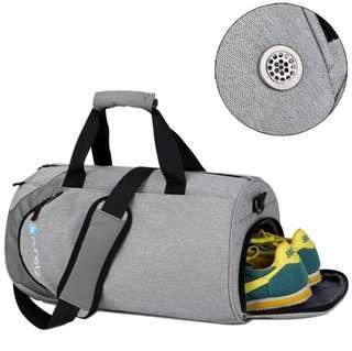 Foldable Gym Bag, Lightweight Weekend Travel Duffel Sports