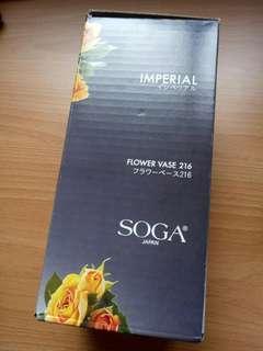 BNIB Soga japan Flower vase 216 (Imperial)