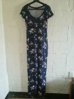 SUMMER SALE Terranova Long Floral Dress