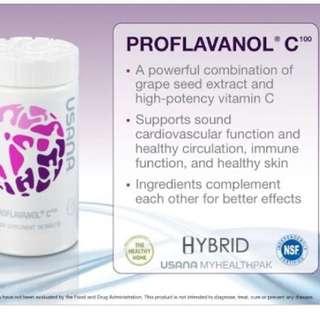 🚚 ㊗Usana proflavanol C100/cellsentials