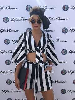 Bardot Stripe Set