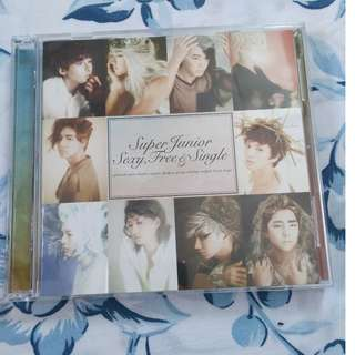 Super Junior Sexy, Free & Single Japan CD + DVD