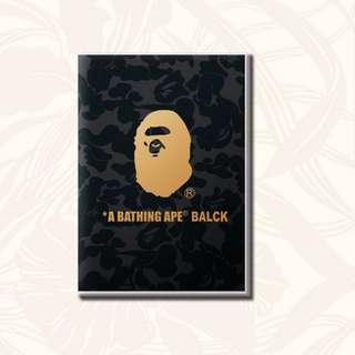 ★ 3 FOR $9 ★ A5 NOTE BOOK ★ BAPE HELLO KITTY MMJ BABY MILO ★ BLACK