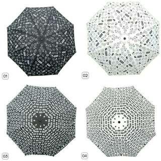 [PO] BTS BT21 3 Fold Umbrella
