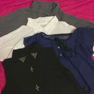 Sophisticated Tops - Four for 800