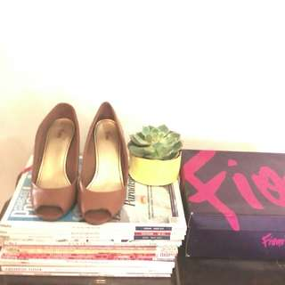 Peeptoe Pumps, Fioni by Payless Shoesource (used)