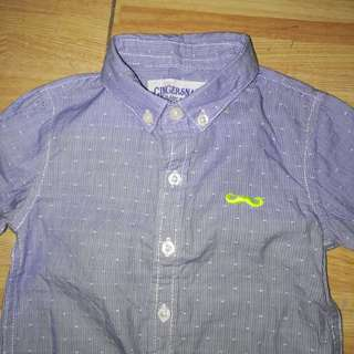 Gingersnaps baby boy polo